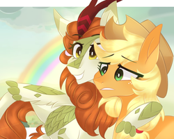 Rainbows light up the sky by waterz-colrxz