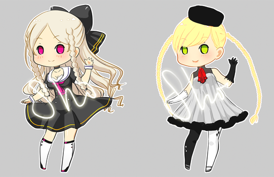 Girls Adopt [OPEN] (500p each) by shortpencil
