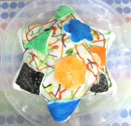 Abstract shape cake by Sia-the-Mawile