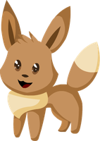 Simply cute - eevee by alicesstudio