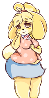 it's isabelle O: by littlecubcake