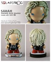 Sarah-personalised munny by SquareFrogDesigns