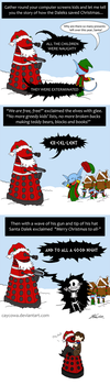 How the Daleks saved Christmas by caycowa