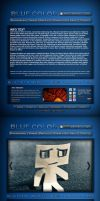BLUE COLOR website - Pawluk by ipawluk