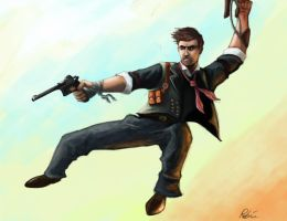 JUST DEWITT: Bioshock Infinite by thebigemp3