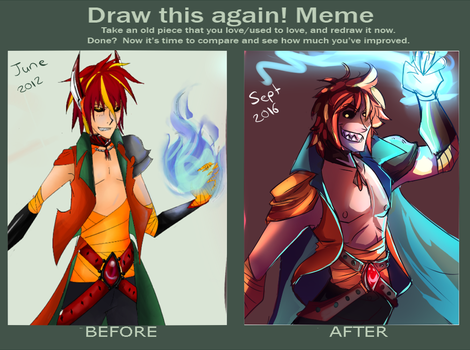 draw this again meme by Flaming-Starfish