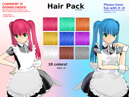 Hair Pack Download by Rozala