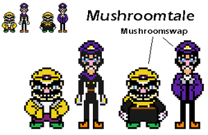 Mushroomtale: Wario and Waluigi by WarchieUnited