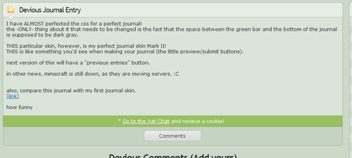 Perfect Journal CSS Mark 2 Alt by Aaron-The-Hybrid
