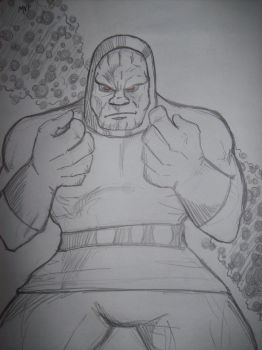 Darkseid by pharmdown