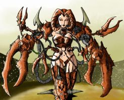 crab lady by sonofangron
