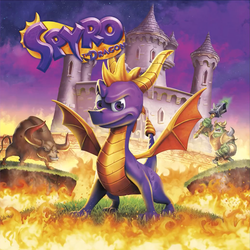 Spyro The Dragon Remastered Box Cover by JapaneseGodzilla1954