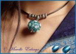 Delphinium Necklace by Mavelle-Ealenyr