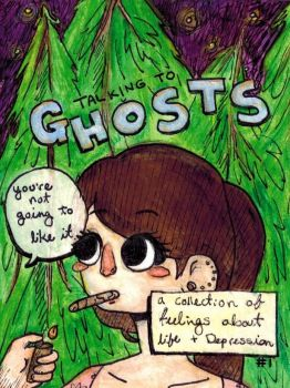 Talking To Ghosts: Cover 1 by HannaPaulson