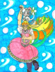 TAM: Lunamancer Tsuki using Lunar Terra Magic by Winter-Colorful