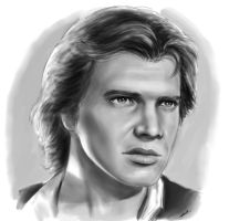 Star Wars - Han Solo by robertmarzullo