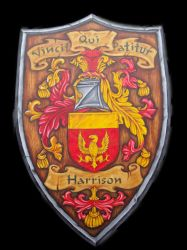 Harrison Family crest by VillKat-Arts