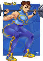 Alpha CHUN-LI! by StretchNSin