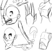 Sketches O' Disembodied People by royalshame