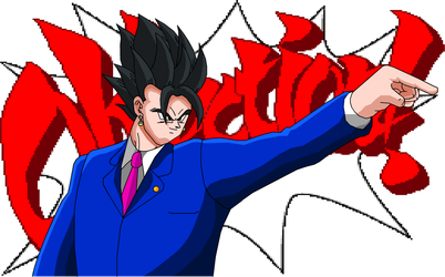 OBJECTION - Vegito by eggmanrules