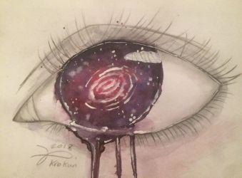 Eye of stars by Kro-987