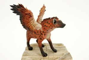 Winged hyena Rony by hontor