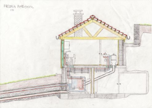 Cross section house 2 by MasterMeiniek