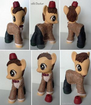 My little Pony Custom Doctor Who 11th Doctor by BerryMouse