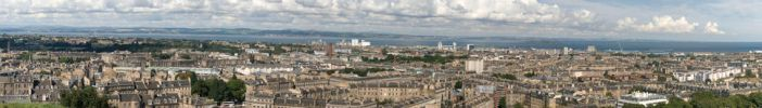 Firth of Forth and Edinburgh by atBobbert