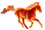 Firehorse  png by Shinikami1