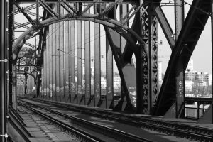 Railway bridge by UdoChristmann