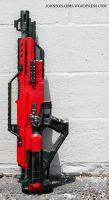 Mass Effect Nerf Stampede No.3 by JohnsonArmsProps