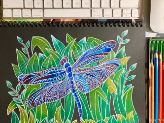 Dragonfly by marygracevillena