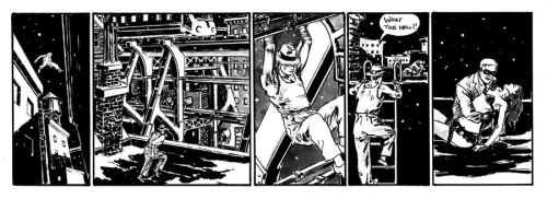 MISTER Z strip number 9 by connelly
