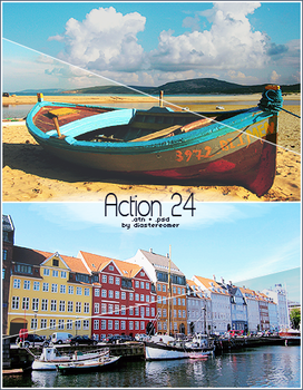 Action 24 + PSD by diastereomer