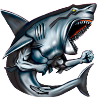 Man-Eating Black Shark by Carlos123321