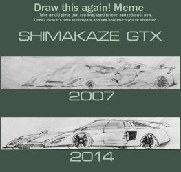 [DRAW THIS AGAIN] Shimakaze GTX Concept by BFG-9KRC