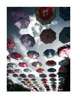 Umbrella Sky by poplok