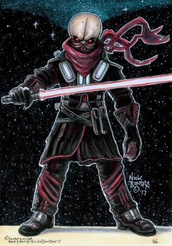 Darth Venamis by Phraggle