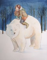 Rose and the White Bear by Lamorien