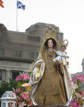 Virgin Mary del Carmen  Procession Spain by Munequillas