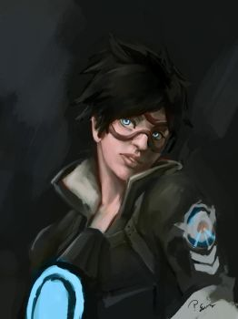 Tracer sketch by pcenero