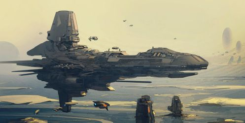 Polar Outpost by JamesLedgerConcepts