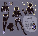 Reference Sheet: Israfel by TenMomentsTill
