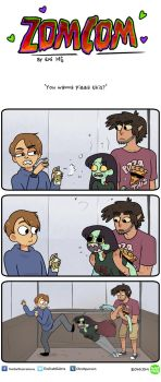 Zomcom: Pizza This by EmiMG