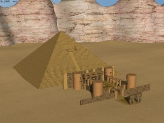 Nasr's Temple by JohnK222