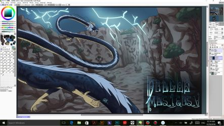 Dragan Masters' V Prologue panel WIP by Ark-illustrates