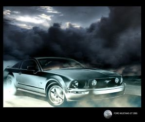 Mustang on the run by badfinger
