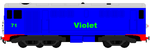 Violet The Diesel Engine by grantgman