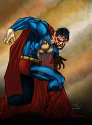 Do not piss Superman off by pauloskinner